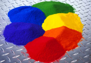 Color Powder Piles