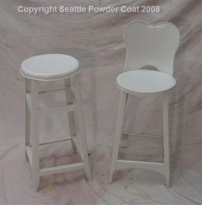 Stools Coated Antique White